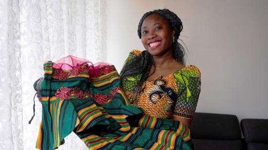 Adwoa Nyarko kwam als 15-jarig meisje uit Ghana in Nederland