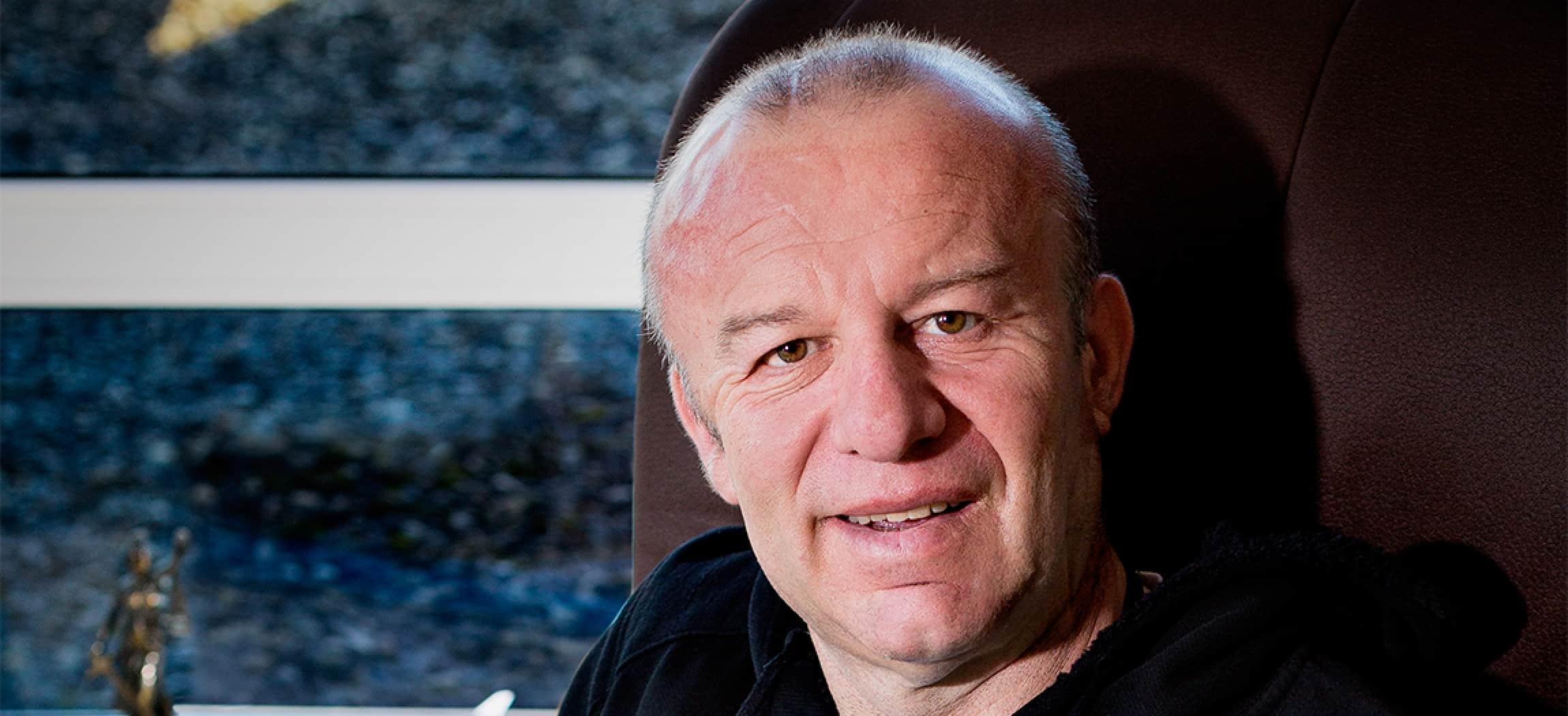 Meneer Beco woont in woonzorgcentrum Floriande Hoofddorp - uit de serie Mensen van Amstelring