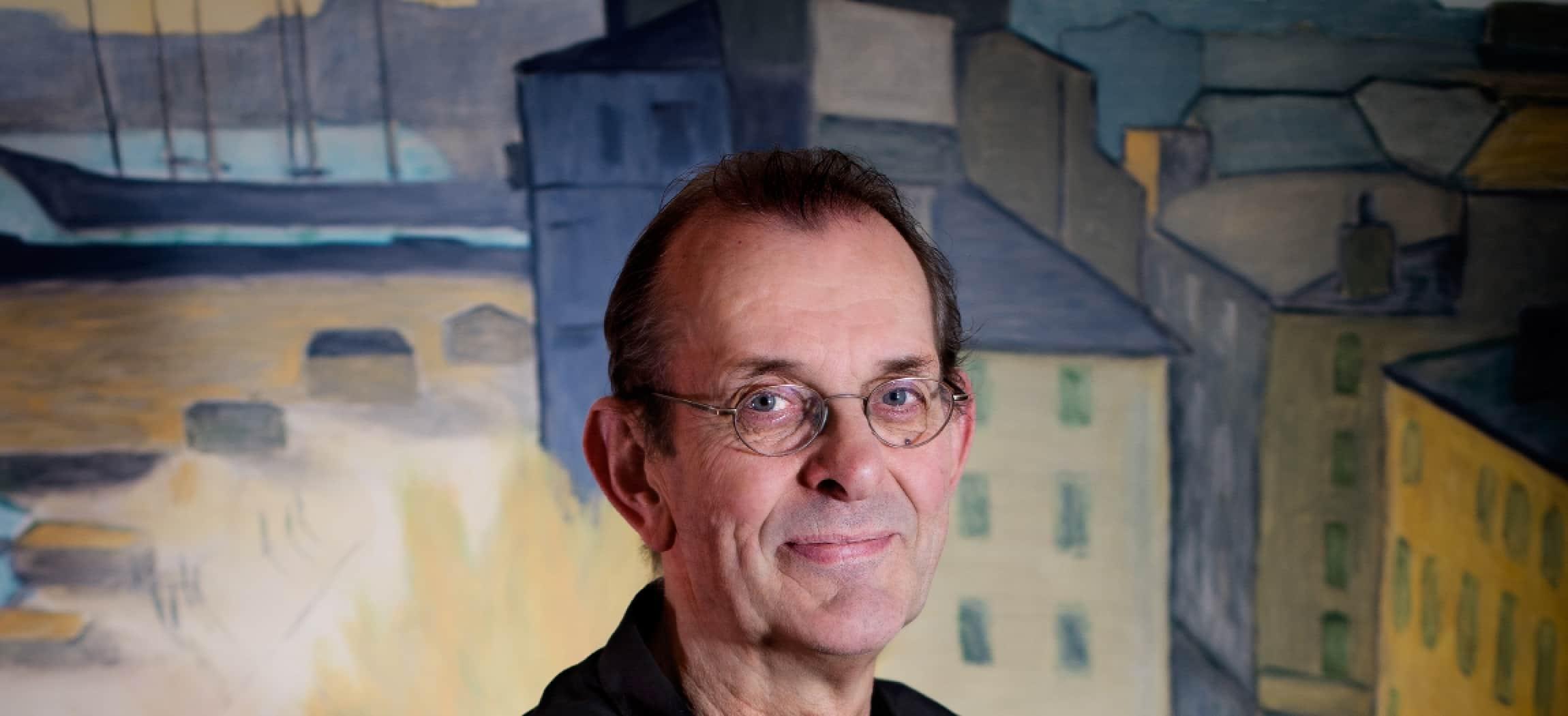 De heer Verbeek is lid van Amstelring Ledenservice - uit de serie Mensen van Amstelring