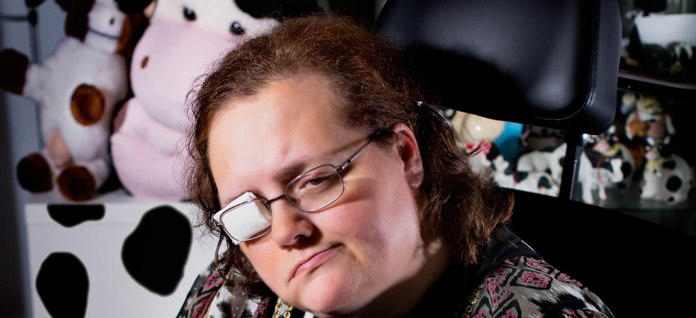 Paula Hilferink woont in Groepswonen Jatopa - uit de serie Mensen van Amstelring
