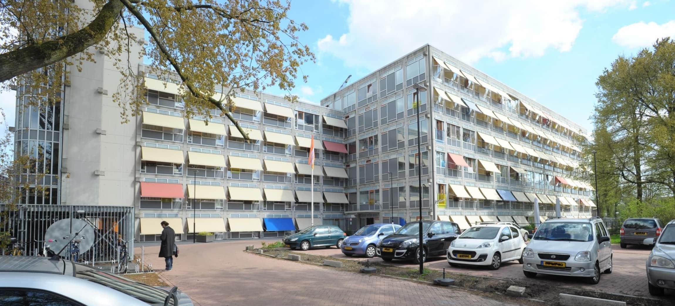 verzorgingshuis De Drie Hoven in Amsterdam
