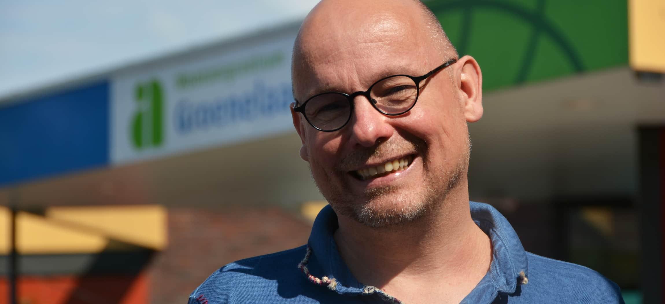 Eric de Rooij staat voor Amstelring locatie Groenelaan