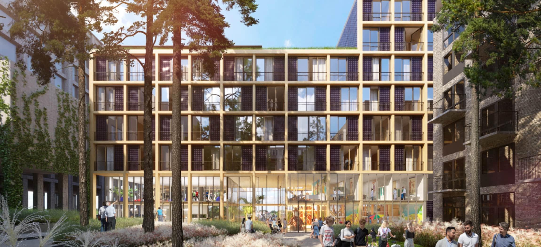 Afbeelding van Eerste woongebouw voor ouderen op IJburg