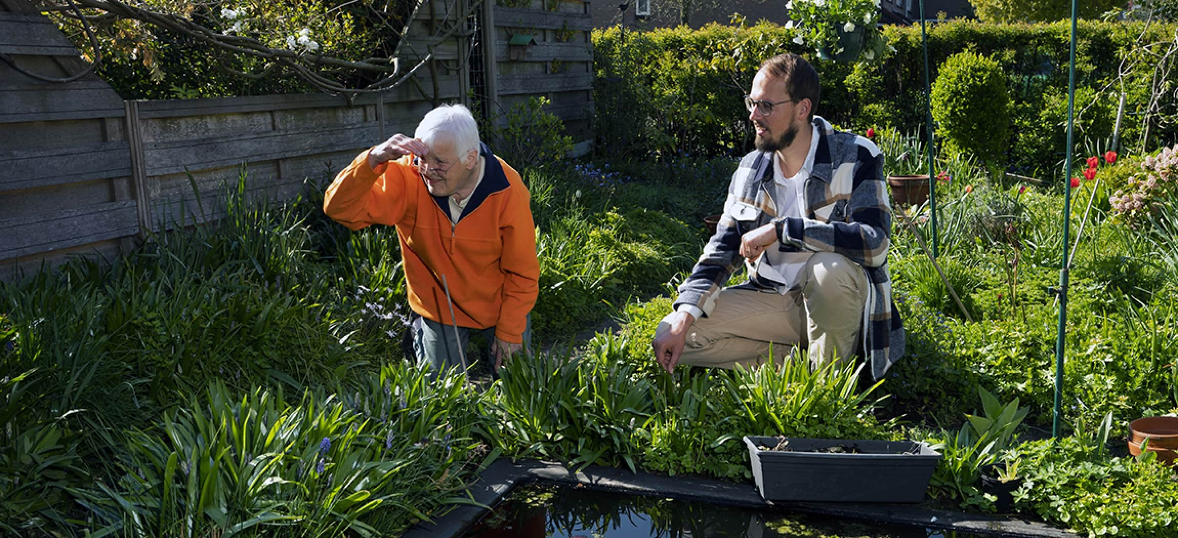 Social trial in Amstelveen: sociale hulp bij dementie