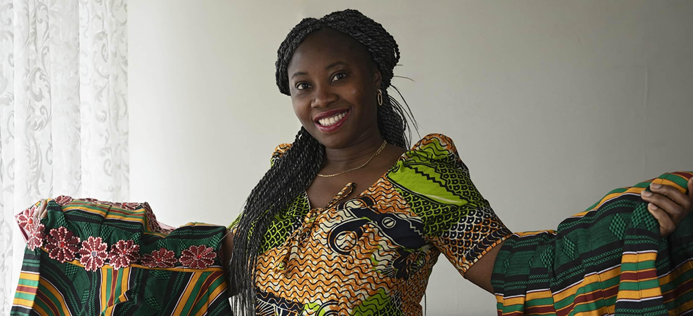 Adwoa Nyarko, helpende bij Het Schouw, kwam als 15-jarig meisje uit Ghana naar Nederland.