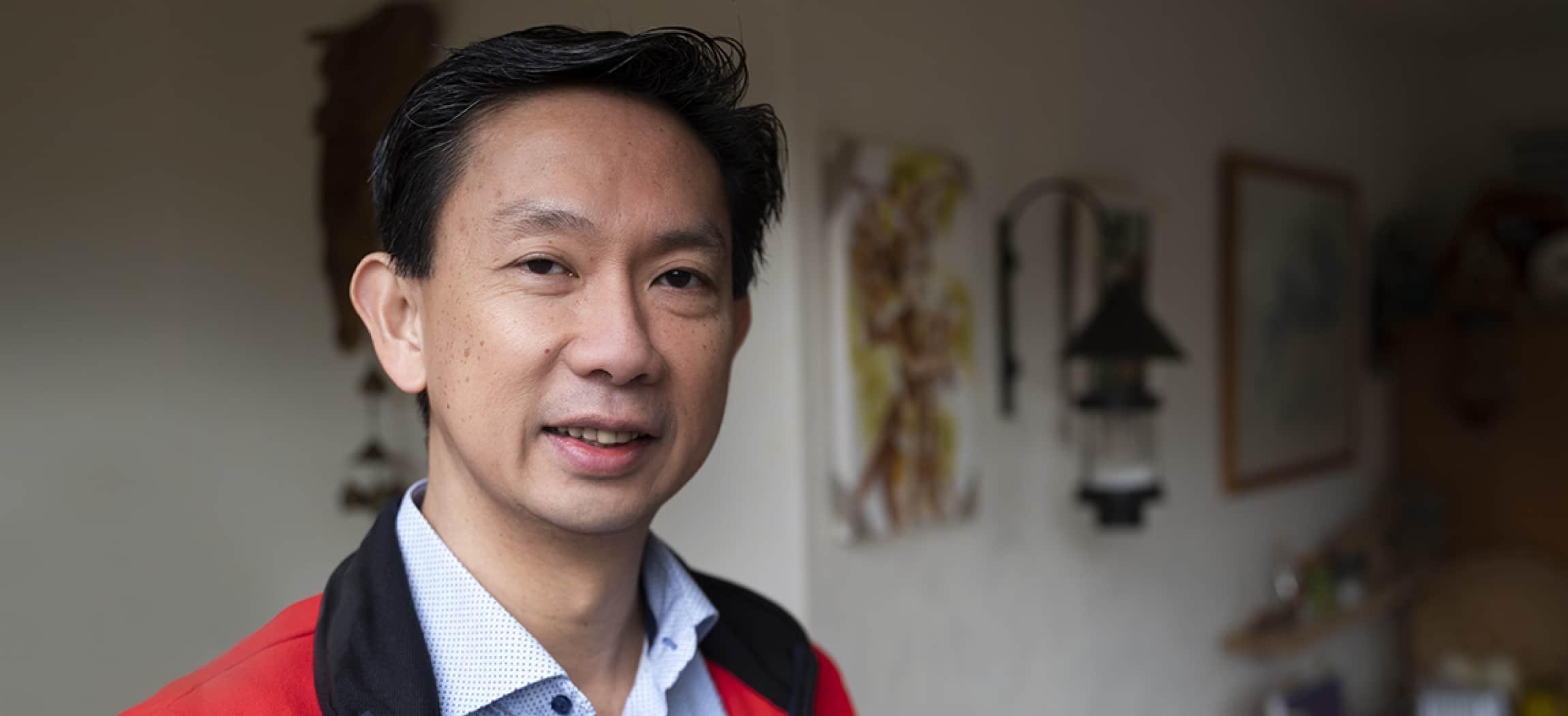 Wawan Kawulusan, werkt bij dagbesteding De Klinker in Amsterdam