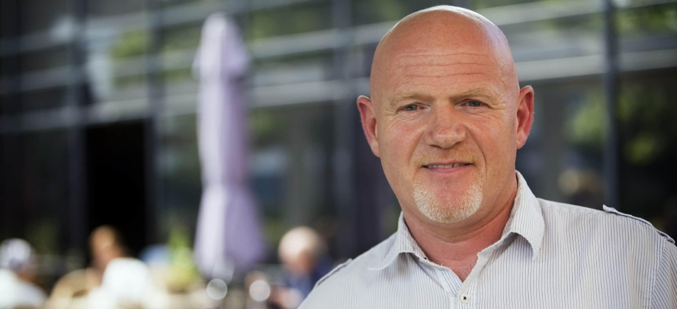 Wim Schoonderbeek stapte over van het vlees naar de zorg.