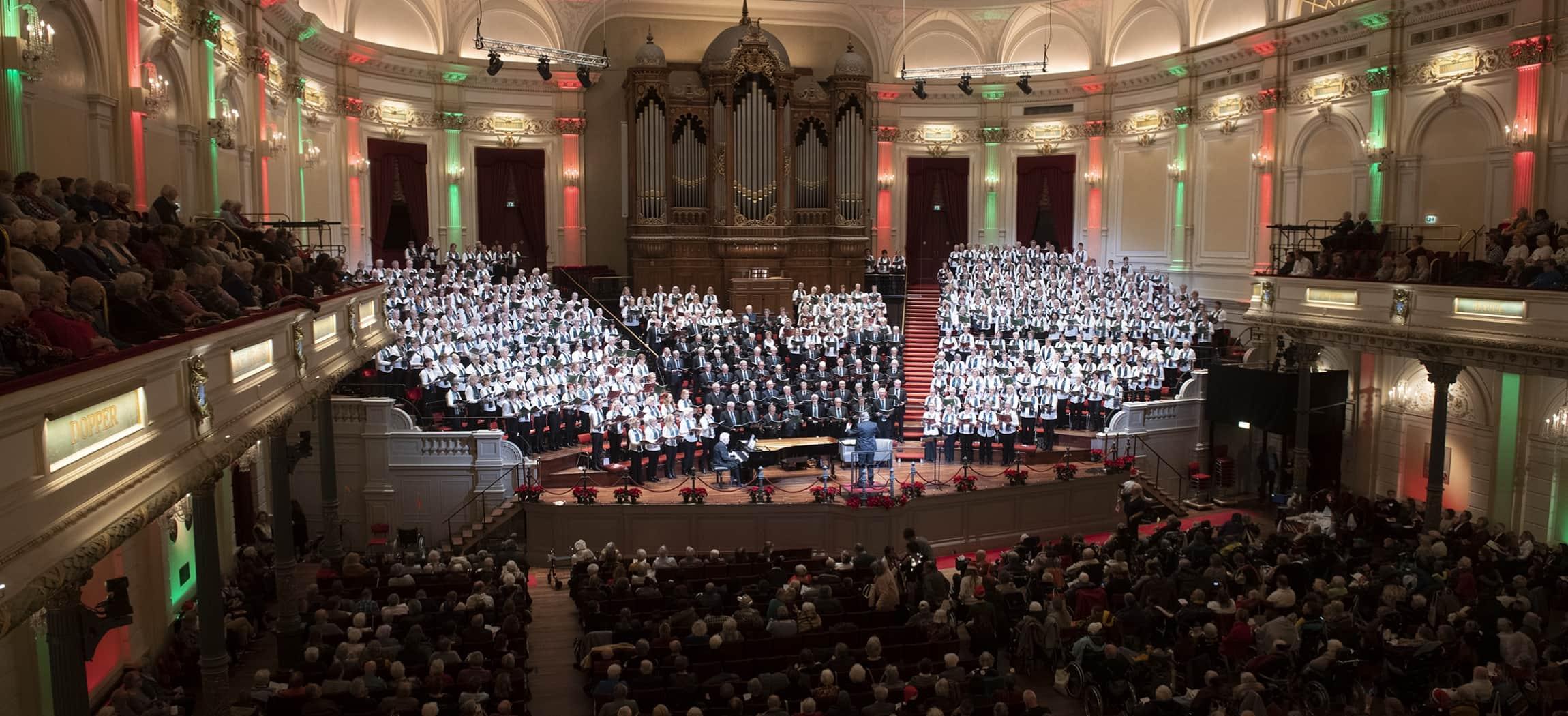 Twintigste Amstelring Kerstconcert in het Concertgebouw Amsterdam